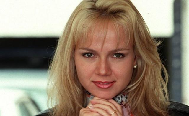 A apresentadora Eliana em foto de 1997.