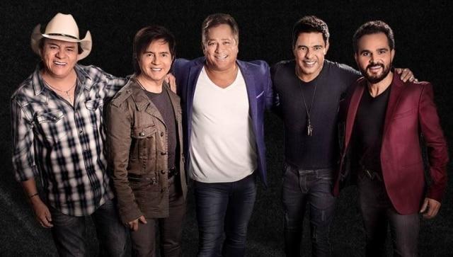 Chitãozinho, Xororó, Leonardo, Zezé Di Camargo e Luciano no retorno do projeto 'Amigos'.