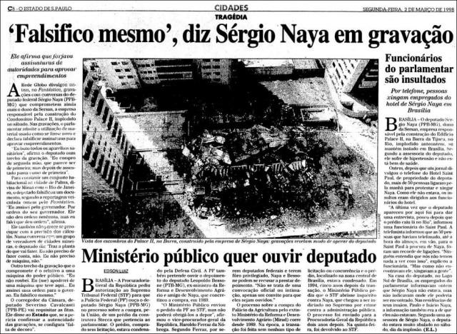 O Estado de S.Paulo- 02/03/1998