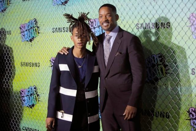 Jaden Smith e Will Smith.