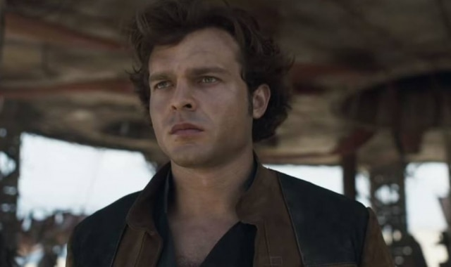 Alden Ehrenreiché o Han Solo no novo filme 'Star Wars'