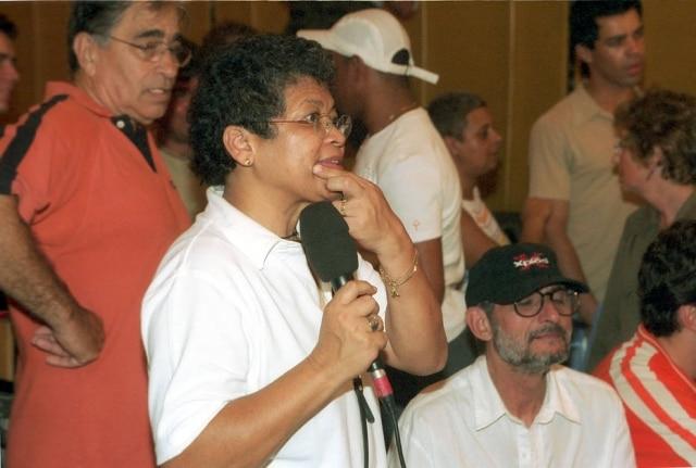 Marlene Mattos em 2002. Ela foi empresária de Xuxa por 18 anos.