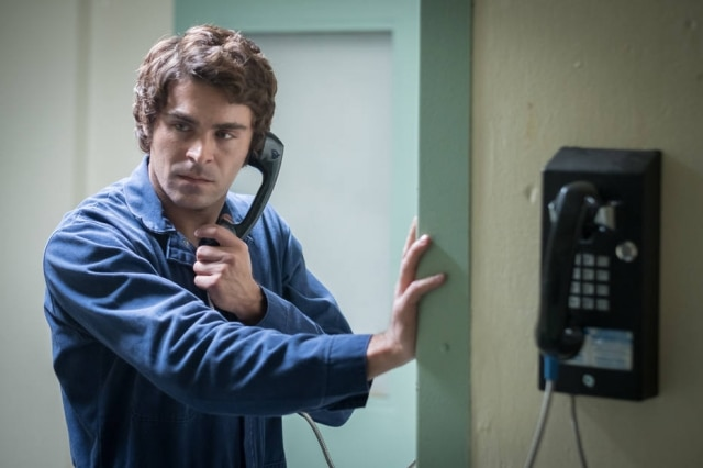 Zac Efron em 'Extremely Wicked, Shockingly Evil and Vile'.