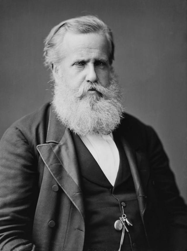 O imperador D. Pedro II em 1876
