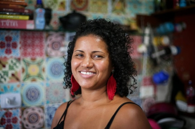 Aline Chermoula, 36, dedica-se à cozinha diaspórica africana nas Américas.