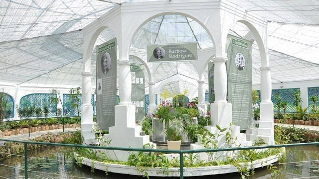 O orquidário do Jardim Botânico do Rio, mantido por Bernardo