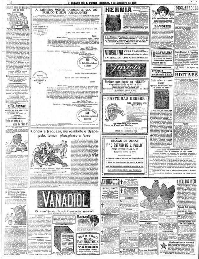 O Estado de S.Paulo - 08/9/1918