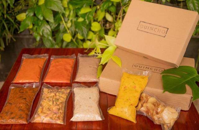 Porções do vegetariano Quincho, embaladas a vácuo, para esquentar em casa em banho-maria.