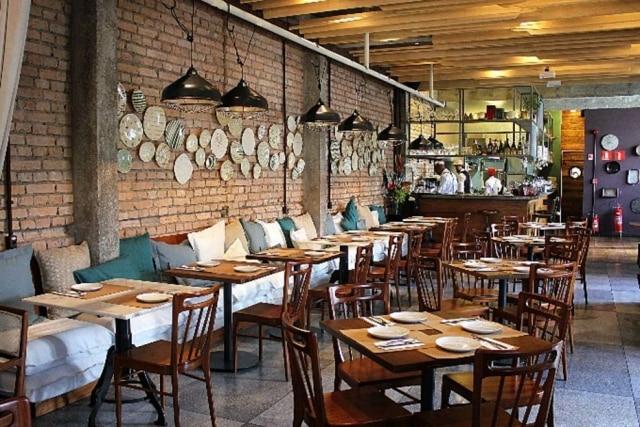 Salão do restaurante Basilicata