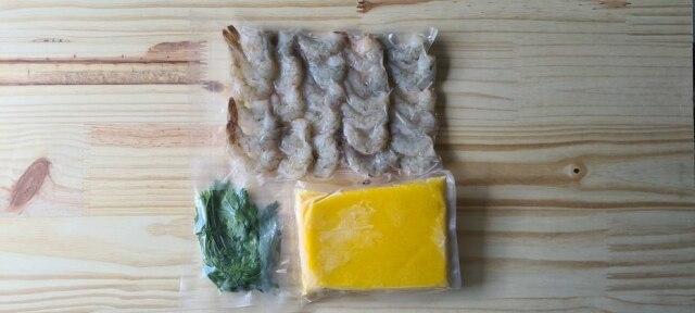 Box do Mar oferece kits de receitas para preparar em casa, como o de bobó de camarão.