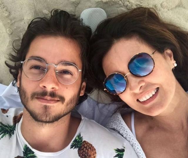 Túlio Gadêlha e Fátima Bernardes