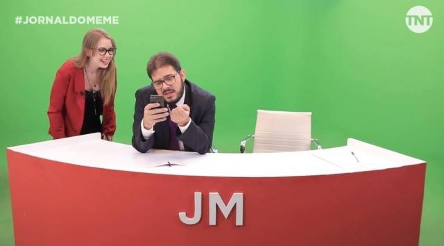 O 'Jornal do Meme', produzido pela TNT, estreou novos quadros na sua produção que vai ao ar no Facebook e YouTube