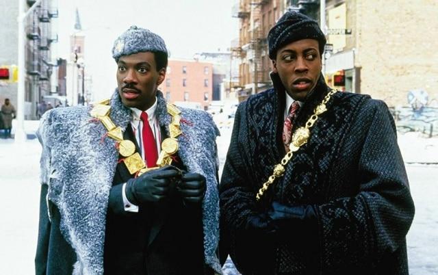 Eddie Murphy e Arsenio Hall em cena de 'Um Príncipe em Nova York'