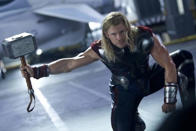Chris Hemsworth interpreta o personagem Thor em 'Vingadores'.