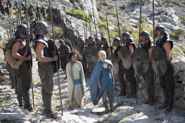 Cena da quarta temporada de 'Game of Thrones'.