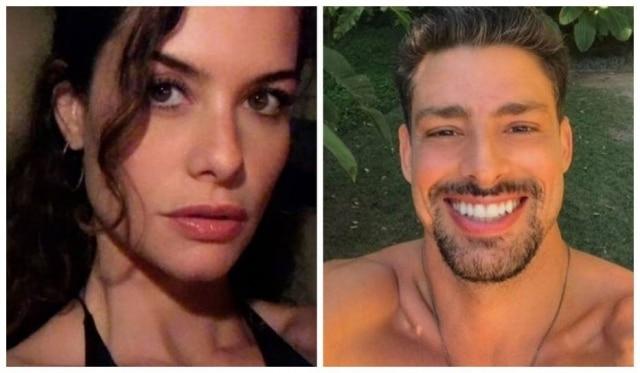 Os atores Alinne Moraes e Cauã Reymond.