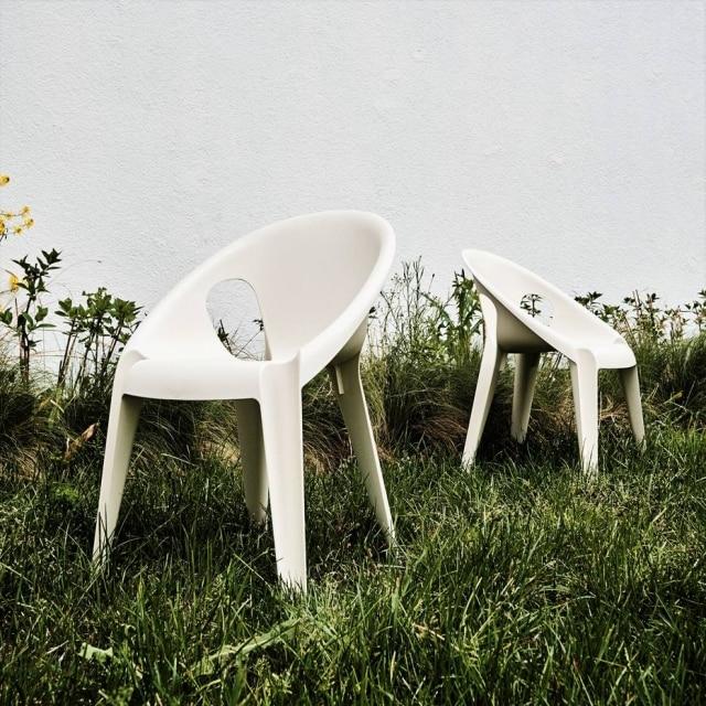 A cadeira Bell, do designer Konstantin Grcic para a Magis