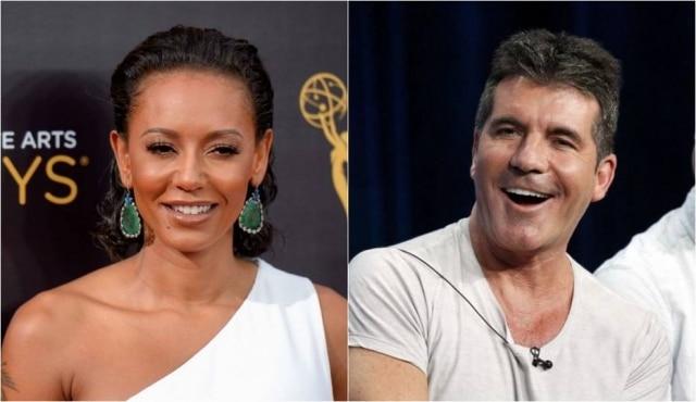 Mel B e Simon Cowell são jurados do 'America's Got Talent'