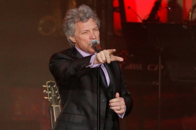 Jon Bon Jovi no Awards Gala em Nova York
