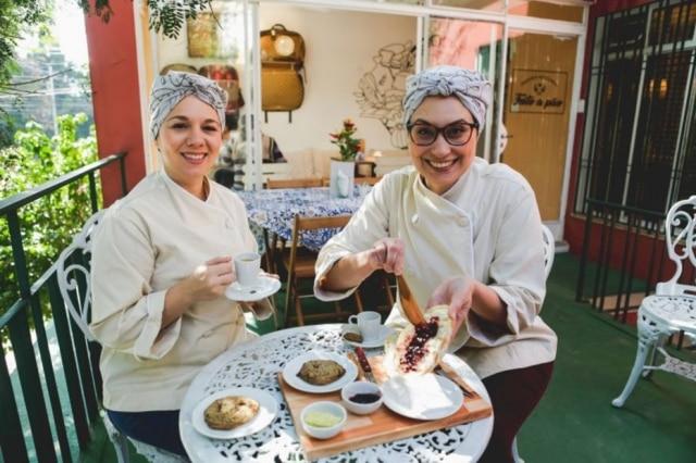 Marina Mazzon e Juliana Cavalheiro, que largaram a publicidade pelo mundo dos pães