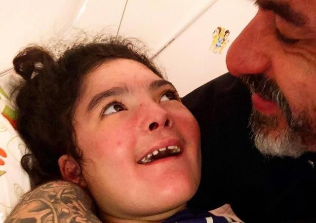 Henrique Fogaça e sua filha, Olívia.
