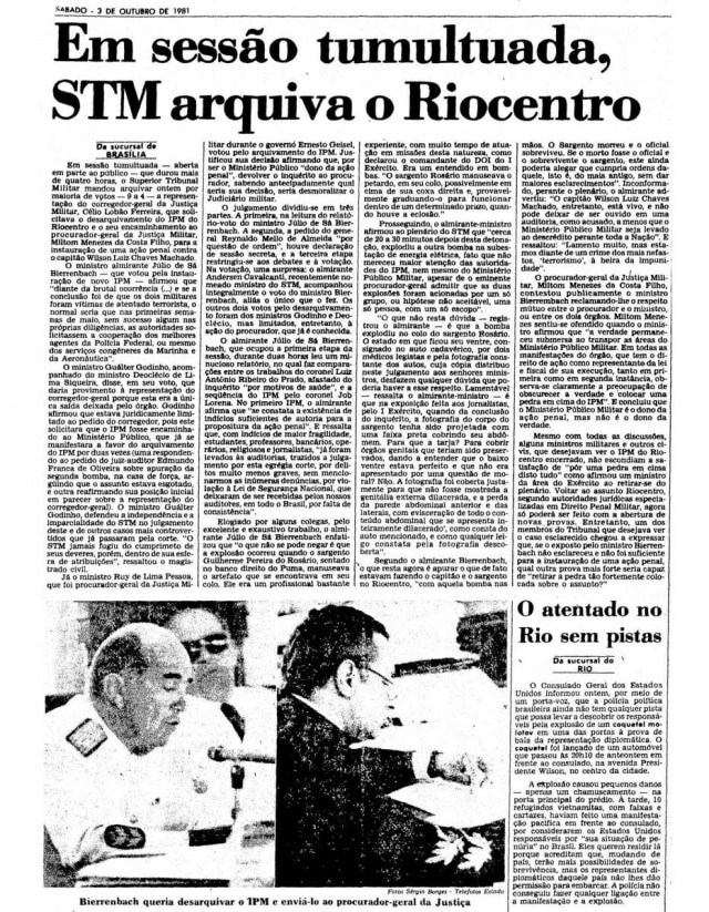> Estadão - 03/10/1981