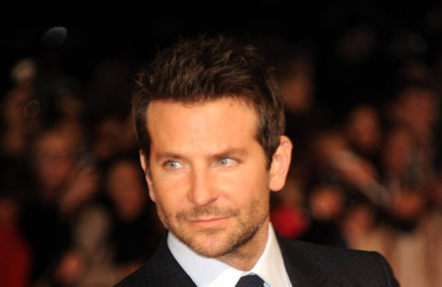 Bradley Cooper attends the Premier of 'Burnt' at Vue West End on October 28, 2015 in London, England.