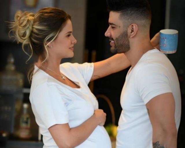 Gusttavo Lima e Andressa Suita são pais pela primeira vez.