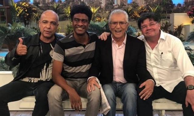 Claudio Manoel, Helio de la Peña, Carlos Alberto deNóbrega e Marcelo Madureira