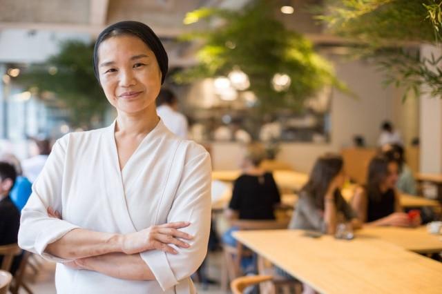 A chef Telma Shiraishi, do Aizomê