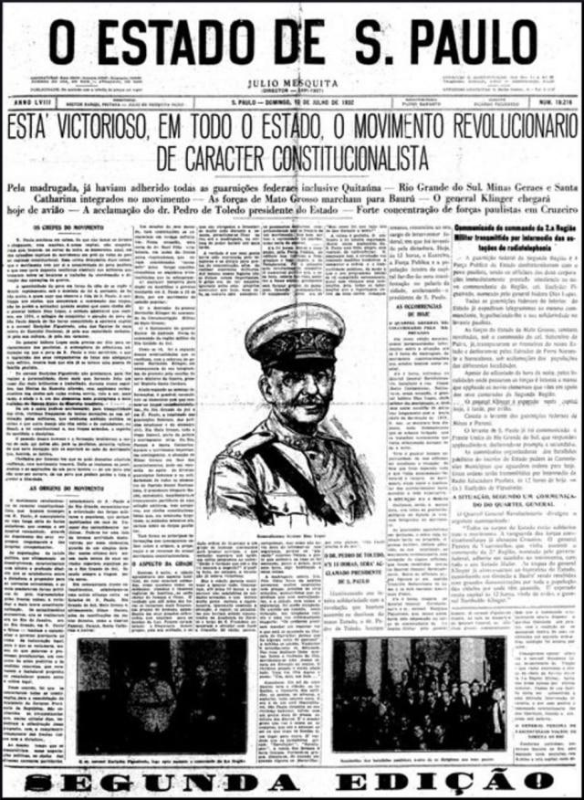 O Estado de S.Paulo - 10/7/1932