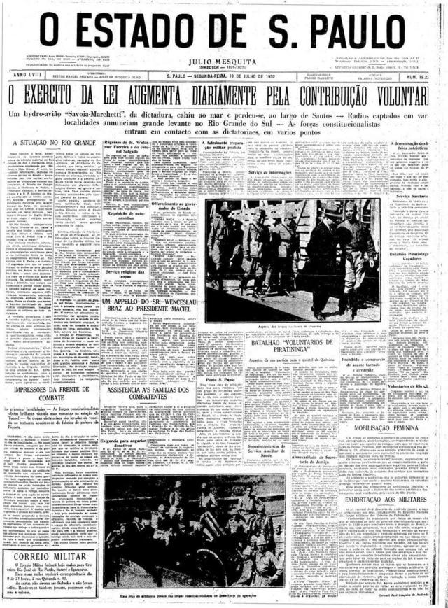 Estadão - 18/7/1932