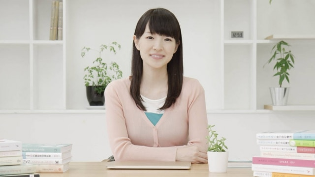 Marie Kondo é autora do método de organização KonMari