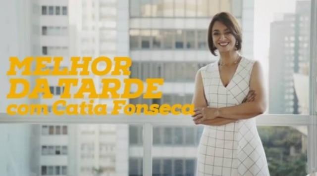 Catia Fonseca apresentará o 'Melhor da Tarde'