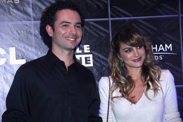 Ator Marco Luque e sua ex-mulherFlavia Vitorino