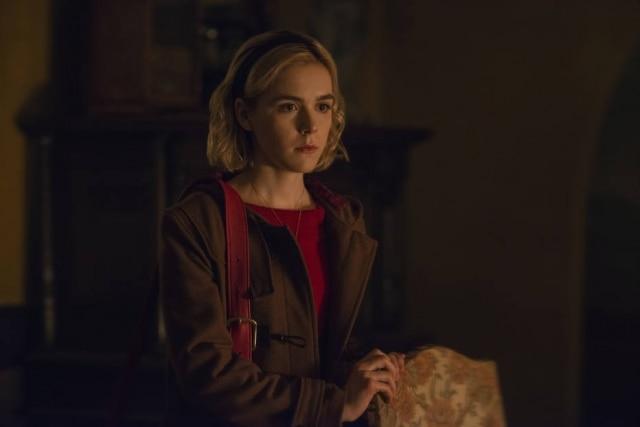 Kiernan Shipka faz opapel principal em'O Mundo Sombrio de Sabrina'.