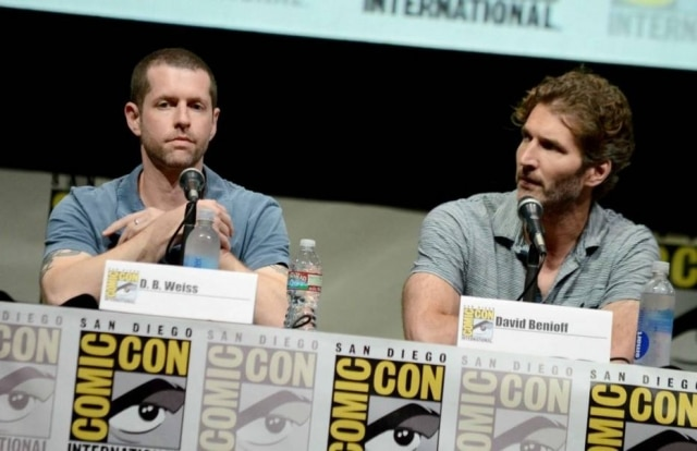 David Benioff e D.B. Weiss, criadores criadores da série Game of Thrones.