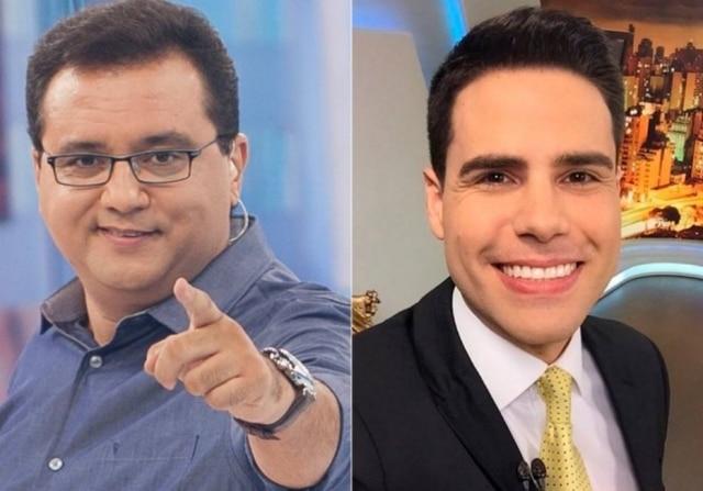 Geraldo Luís foi posto na geladeira e Luiz Bacci assumiu o 'Domingo Show'