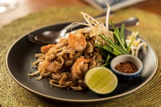 Pad thai goong no delivery do Obá