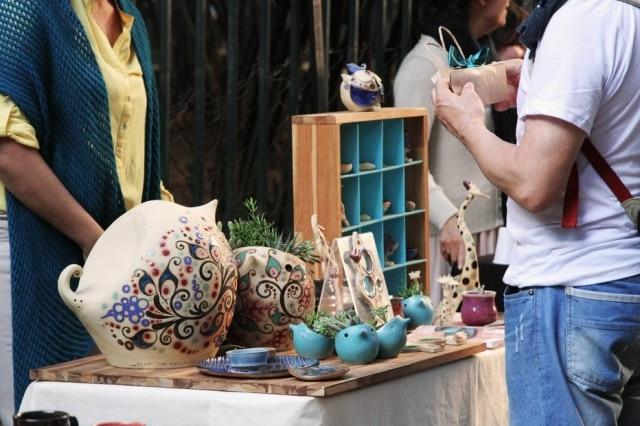 Mercado Buenos Aires ocorre na praça homônima do bairro Higienópolis