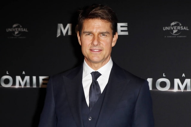 O ator Tom Cruise
