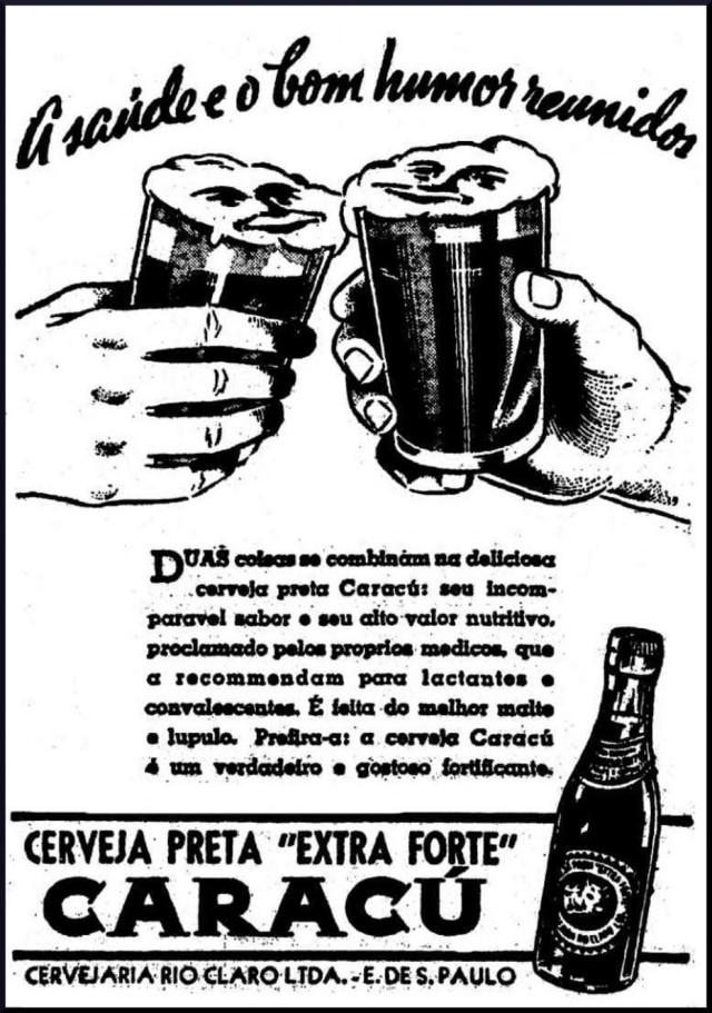 Anúncio da Caracú no Estadão de 10/7/1938