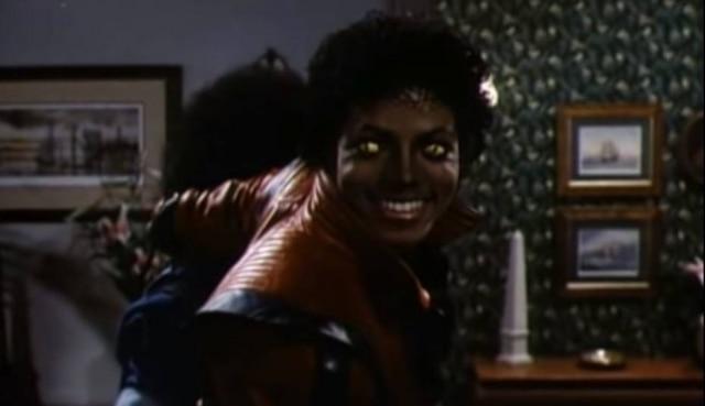 """Clipe de """"Thriller"""" estreou em 1983 na MTV"""