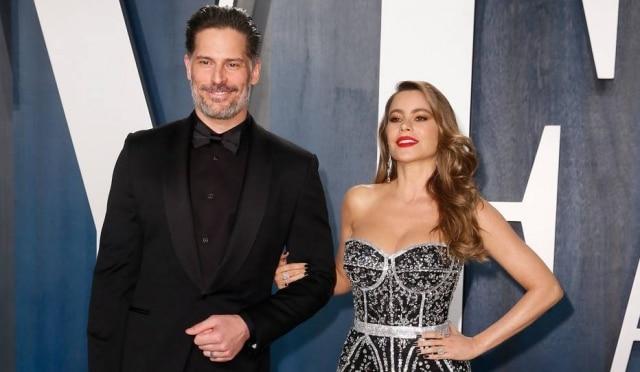 Sofia Vergara e Joe Manganiello durante o 92º Academy Awards, em Los Angeles, nos Estados Unidos, em fevereiro de 2020