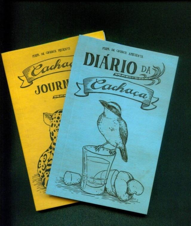 """""""Diário da Cachaça"""", em inglês e português"""