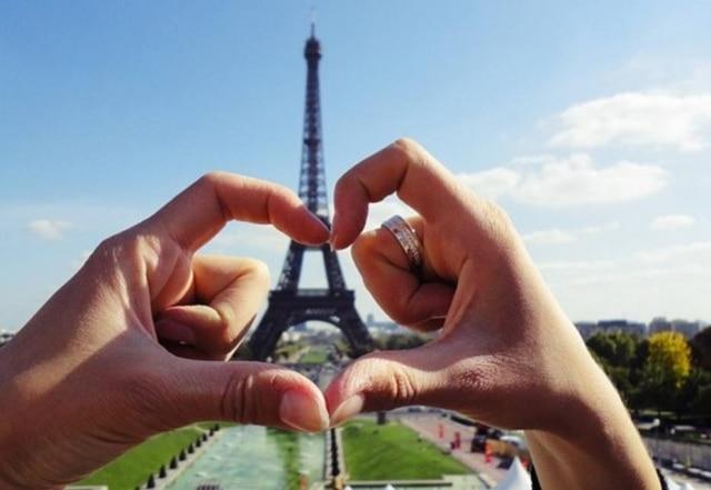 'Amorzão' pediu a 'Princesona' em casamento na Torre Eiffel