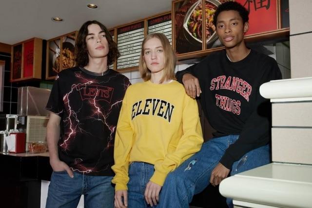d82183e80525 Levi's cria roupas para personagens de 'Stranger Things' e peças ...