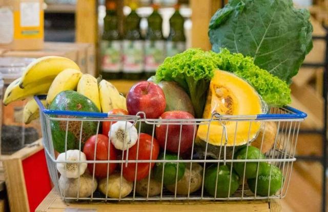 Alimentos orgânicos da Casa Orgânica
