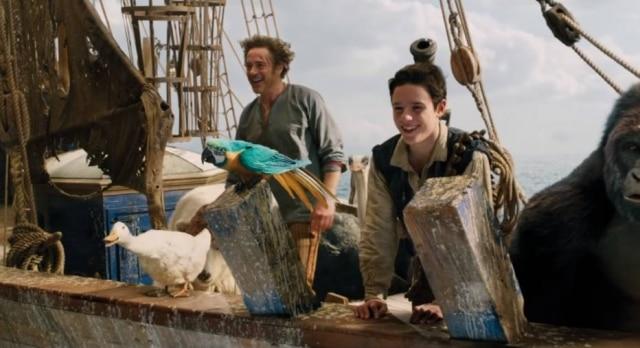 Robert Downey Jr. em cena de 'Dolittle'