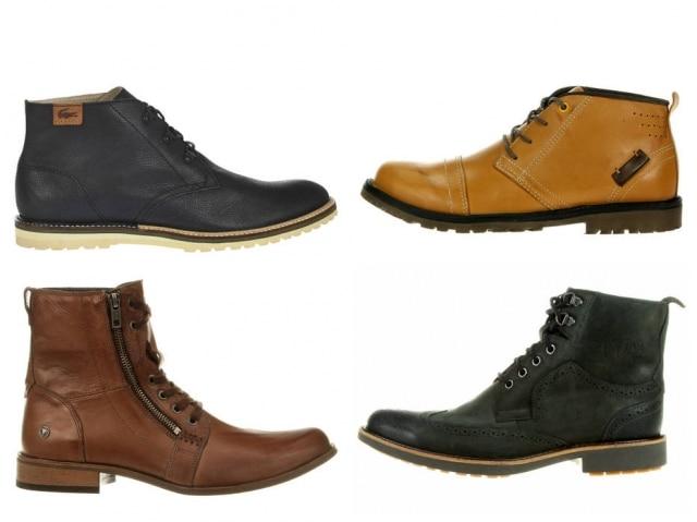 As botas ajudam a compor o estilo lumbersexual, que não vai embora tão cedo: Lacoste, R$ 699; West Coast, R$ 199; Cavalera, R$ 344,90; Anatomic, R$ 209,90